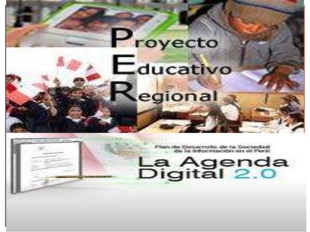LA AGENDA DIGITAL 2.0 PERUANA TIENE UN          CORRELATO CON EL PERTEl 27 julio 2011, se publicó en el diario oficial    ...