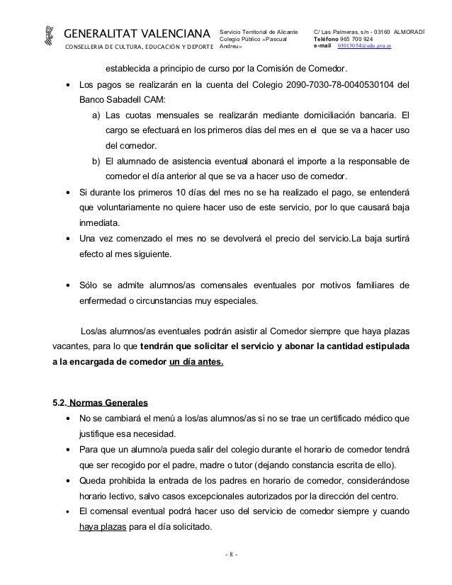 Modelo certificado de empresa para comedor escolar casa for Proyecto comedor infantil
