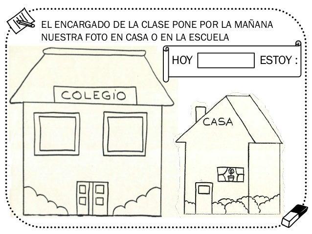 EL ENCARGADO DE LA CLASE PONE POR LA MAÑANA NUESTRA FOTO EN CASA O EN LA ESCUELA  HOY  ESTOY :  %