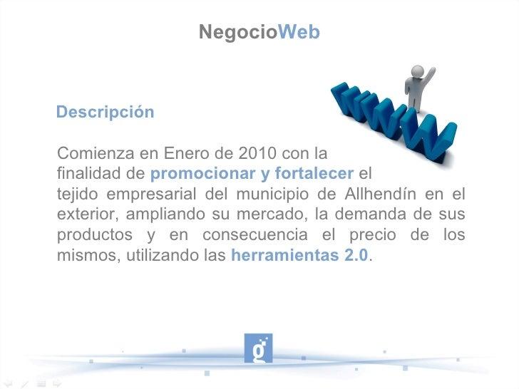 Proyecto Empleo Granada Negocioweb