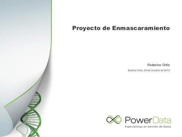 AR-Proyecto enmascaramiento de datos. Slide 2