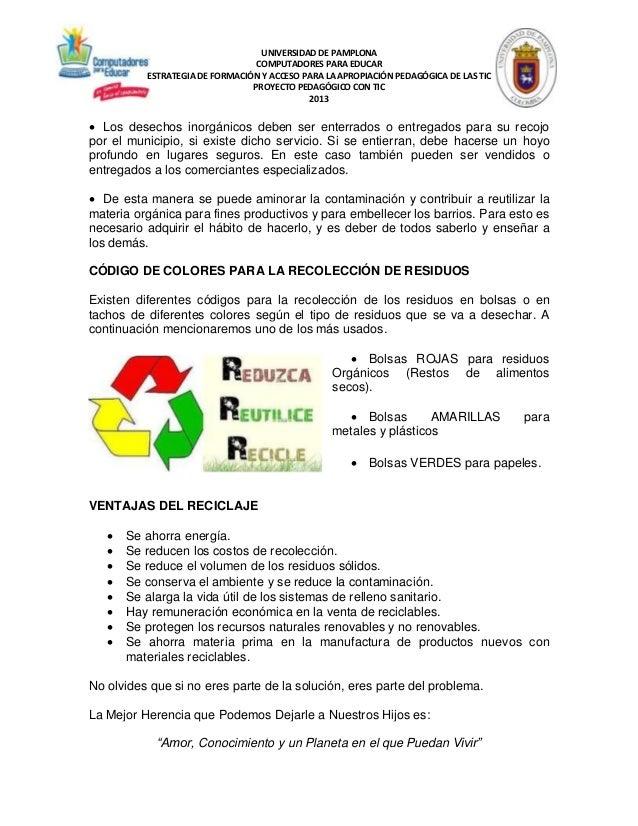 911478564cc7 Proyecto escuela libre de basuras