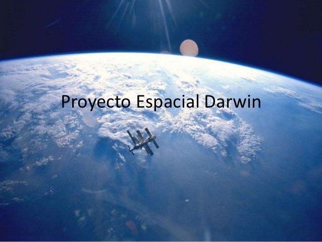 Proyecto Espacial Darwin