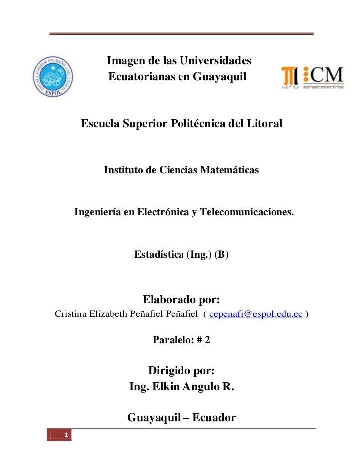 Imagen de las Universidades            Ecuatorianas en Guayaquil       Escuela Superior Politécnica del Litoral           ...