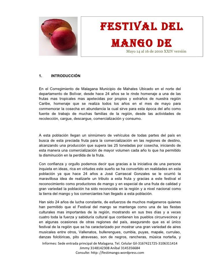 Festival del                                                 Mango de                                                     ...