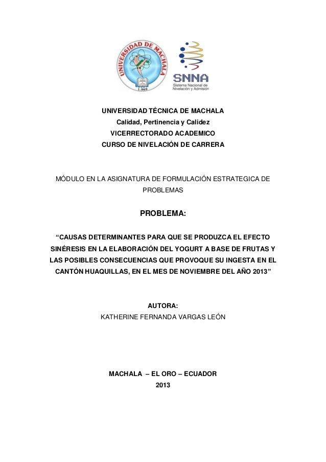 UNIVERSIDAD TÉCNICA DE MACHALA Calidad, Pertinencia y Calidez VICERRECTORADO ACADEMICO CURSO DE NIVELACIÓN DE CARRERA  MÓD...
