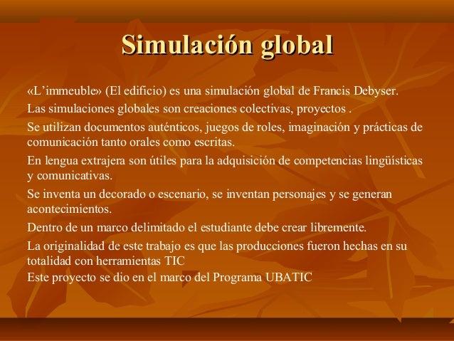 Proyecto: Simulaciones globales en las redes sociales Slide 2