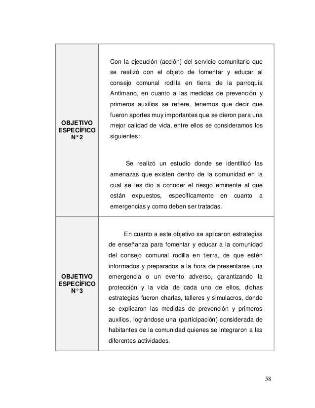Se realiz con el objetivo de blse for Proyecto comedor comunitario pdf