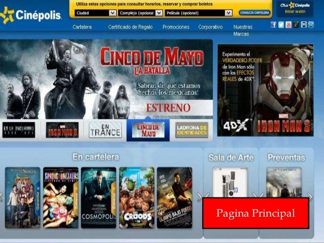 Proyecto final sa for Cartelera cinepolis cd jardin