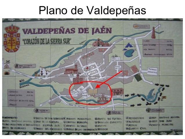 Proyecto final valdepe as de ja n - Plano de valdepenas ...