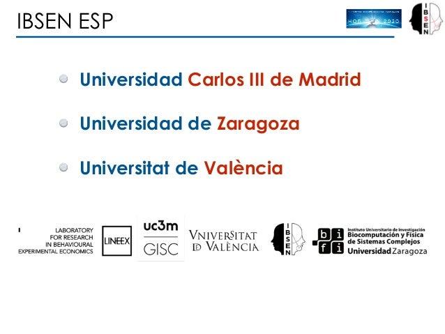 IBSEN ESP Universidad Carlos III de Madrid Universidad de Zaragoza Universitat de València