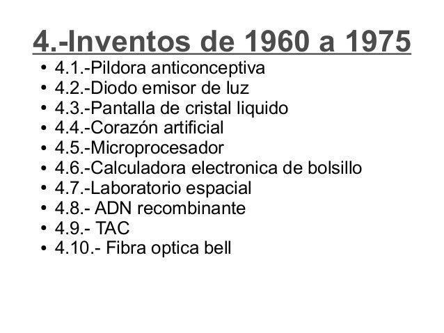inventos 1960