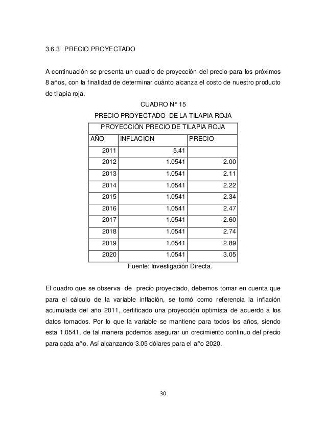 Proyecto de tilapia estudio realizado en la provincia de for En cuanto tiempo se cosecha la tilapia