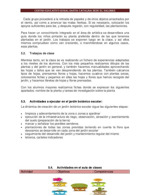PROYECTO PEDAGODICO DE AULA: JARDIN BOTANICO MI MUNDO GREEN