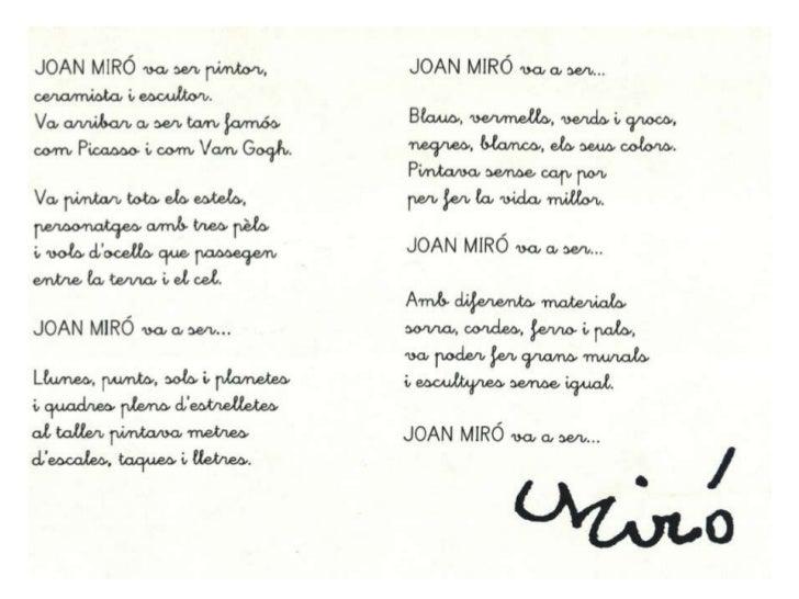 Proyecto joan miró original