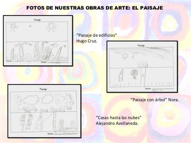 """FOTOS DE NUESTRAS OBRAS DE ARTE: EL PAISAJE               """"Paisaje de edificios""""               Hugo Cruz.                 ..."""