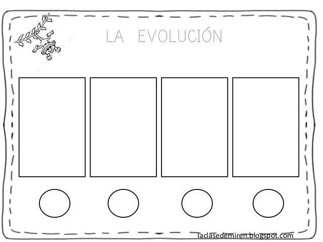 LA EVOLUCIÓN 1111 laclasedemiren.blogspot.com