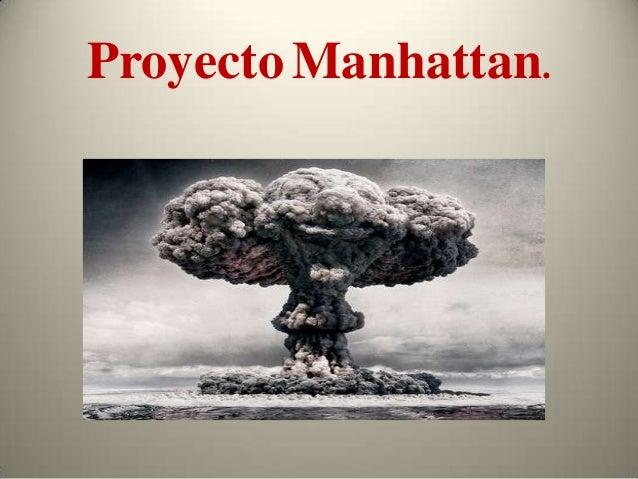 """Resultado de imagen para proyecto """"Manhattan""""."""
