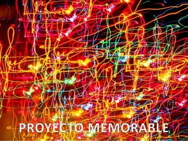 Proyecto memorable