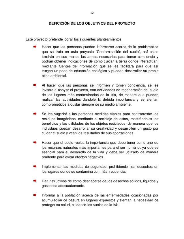 Tesina y proyecto contaminaci n del suelo for Informacion sobre el suelo