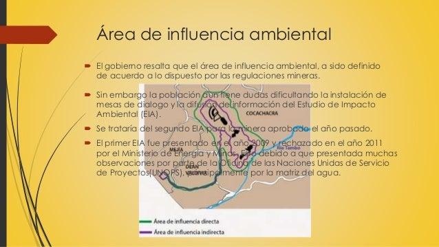 estudio de impacto ambiental de tia maria pdf