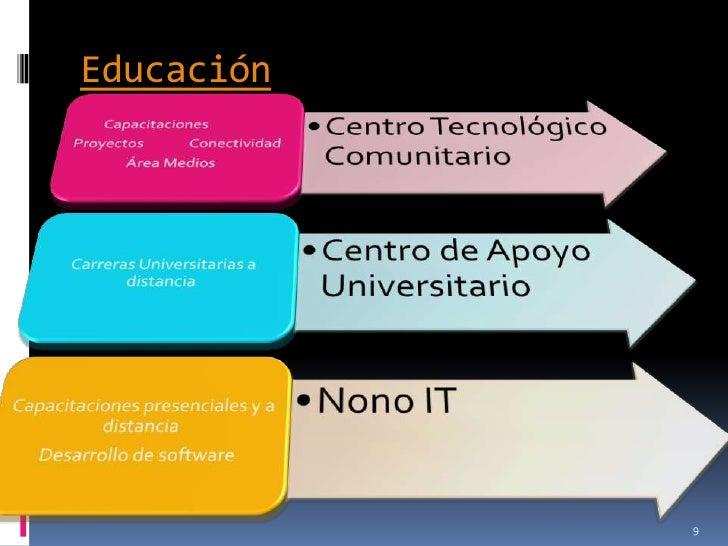 Educación            9
