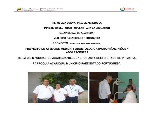 "REPÚBLICA BOLIVARIANA DE VENEZUELAMINISTERIO DEL PODER POPULAR PARA LA EDUCACIÓNU.E.N ""CIUDAD DE ACARIGUA""MUNICIPIO PAÉZ E..."