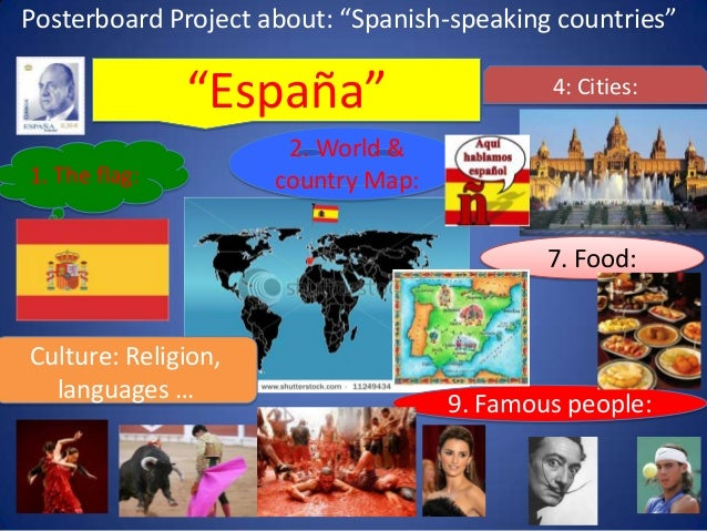 Food From Spanish Speaking S Countries