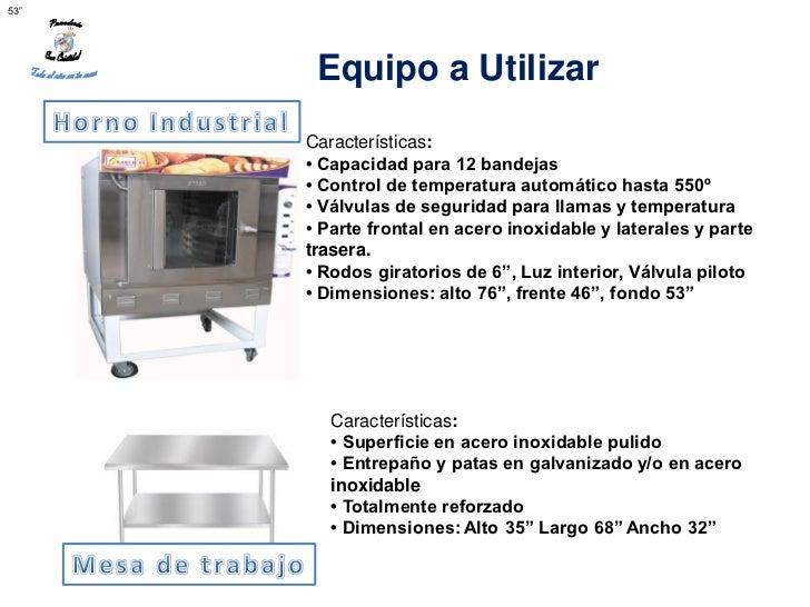 """53""""       Equipo a Utilizar      Características:      • Capacidad para 12 bandejas      • Control de temperatura automáti..."""