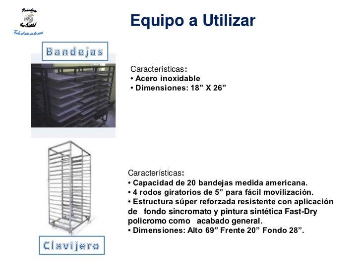 """Equipo a UtilizarCaracterísticas:• Acero inoxidable• Dimensiones: 18"""" X 26""""Características:• Capacidad de 20 bandejas medi..."""