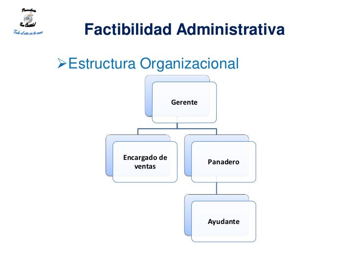 Factibilidad AdministrativaEstructura Organizacional                        Gerente         Encargado de                 ...