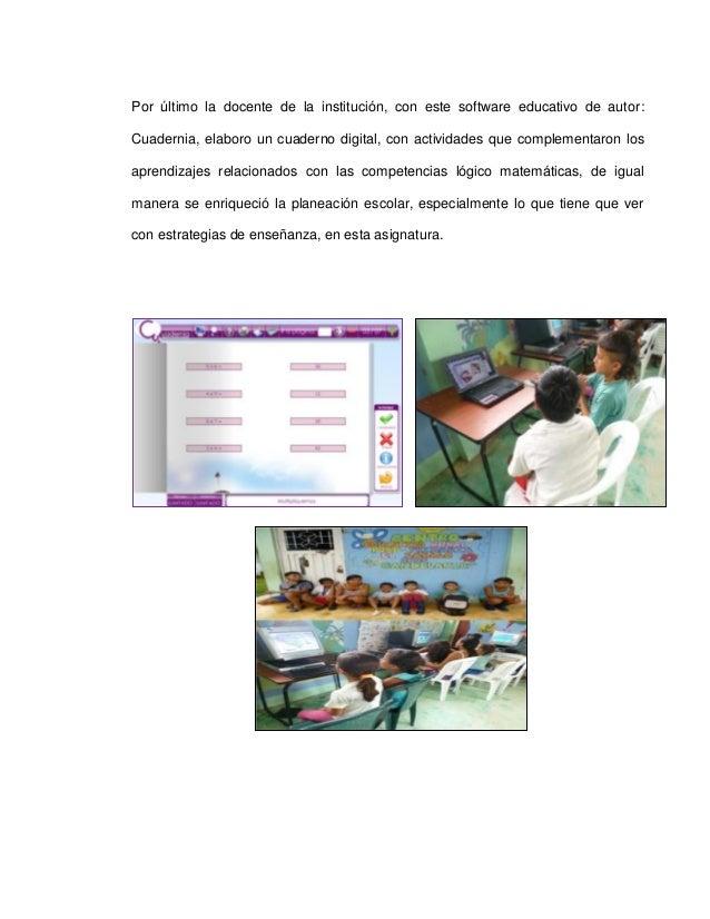 Proyecto pedagogico de aula en tic matematicas for Actividades recreativas en el salon de clases