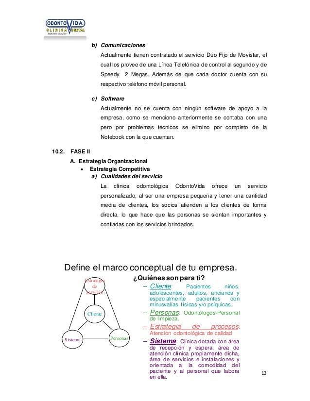 b) Comunicaciones Actualmente tienen contratado el servicio Dúo Fijo de Movistar, el cual los provee de una Línea Telefóni...
