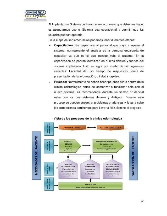 Al Implantar un Sistema de Información lo primero que debemos hacer es asegurarnos que el Sistema sea operacional y permit...
