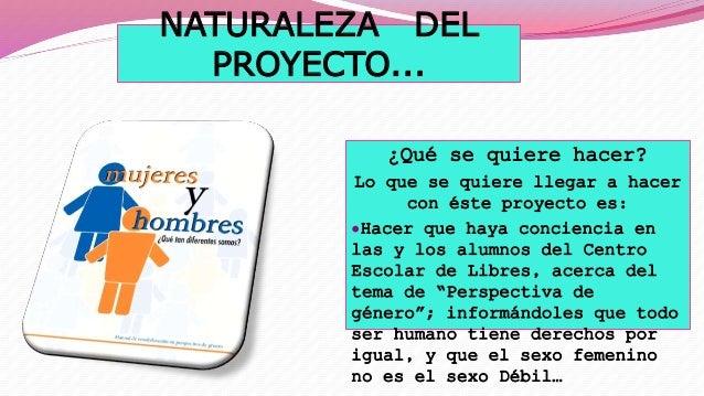 Proyecto Pespectiva De Género Por Mariana Loeza García