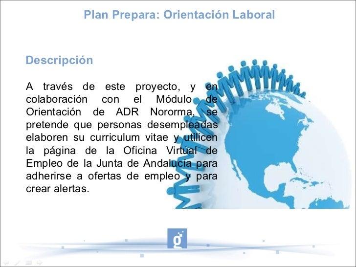 Proyecto guadalinfo csm plan prepara orientaci n laboral for Oficina virtual junta de andalucia educacion