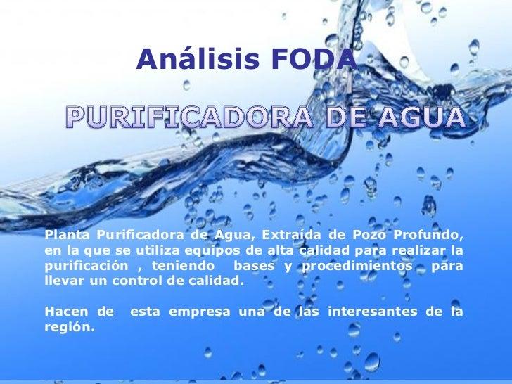Proyecto planta agua