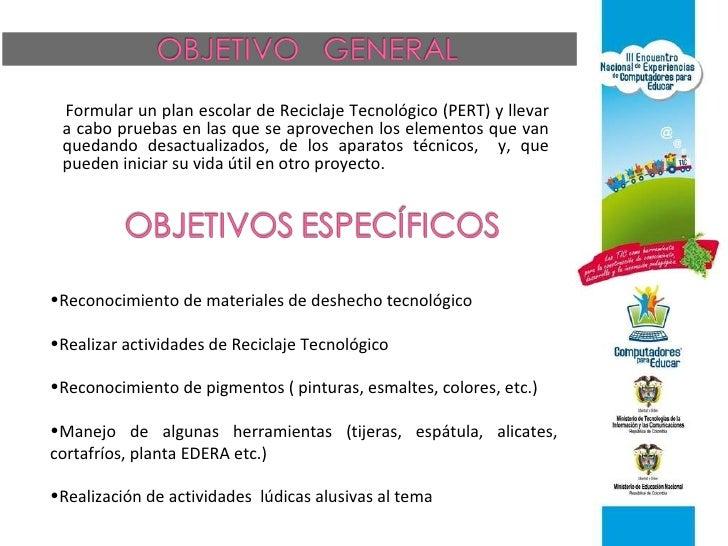 Proyecto Reciclaje Tecnol Gic