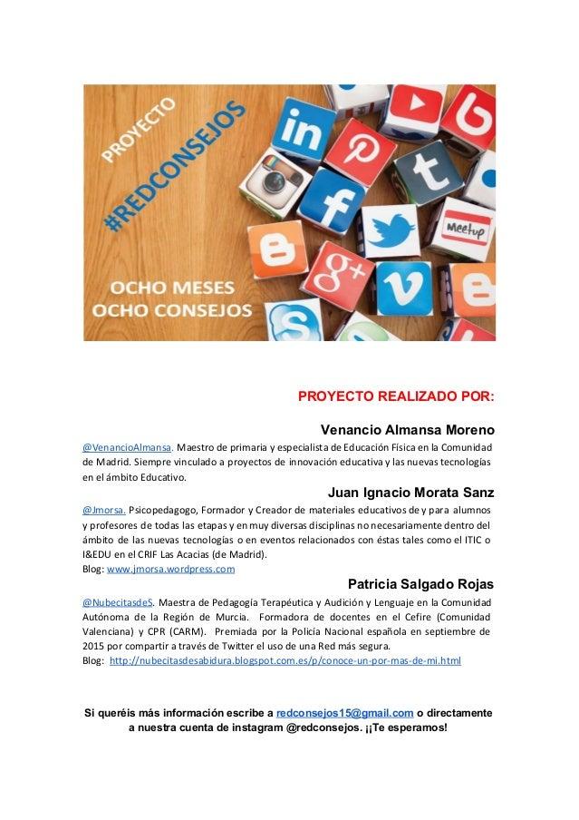PROYECTO REALIZADO POR: Venancio Almansa Moreno @VenancioAlmansa. Maestro de primaria y especialista de Educación Física ...