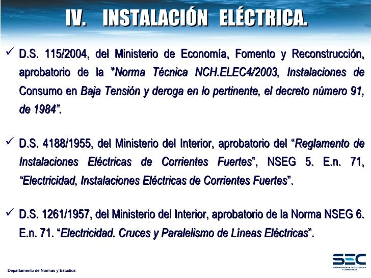 Proyecto reglamento alumbrado p blico 2009 for Decreto ministerio del interior