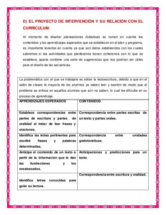 PROYECTO DE LECTOESCRITURA: LEER BIEN PARA ESCRIBIR MEJOR