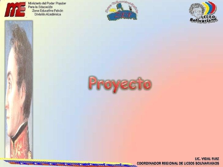 Proyecto<br />