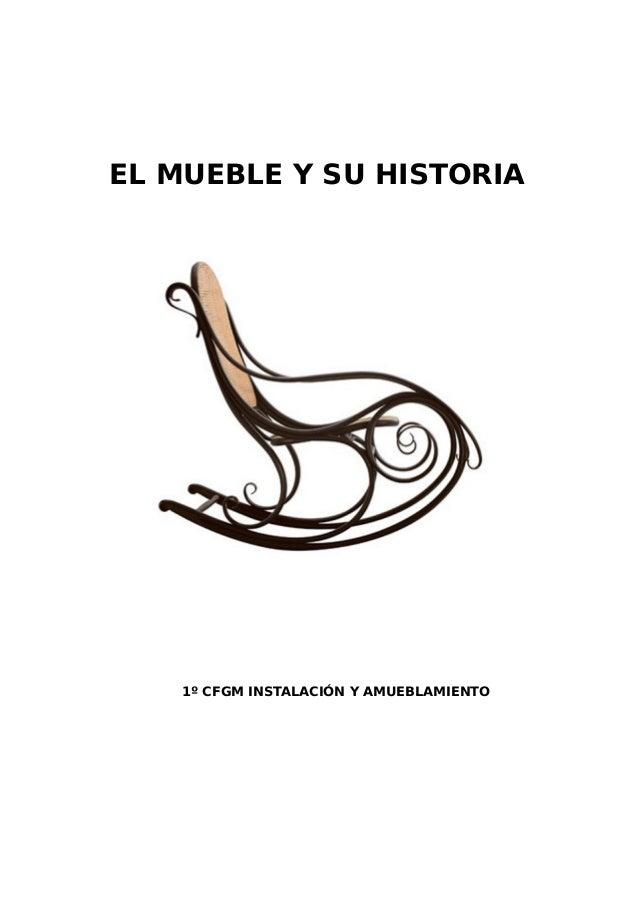 Proyectos abp for Historia del mueble pdf