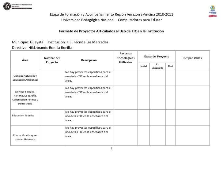 Etapa de Formación y Acompañamiento Región Amazonía-Andina 2010-2011<br />Universidad Pedagógica Nacional – Computadores p...