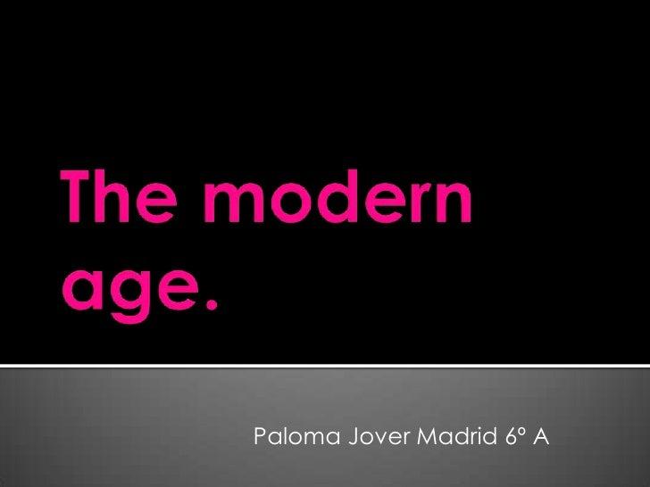 Paloma Jover Madrid 6º A