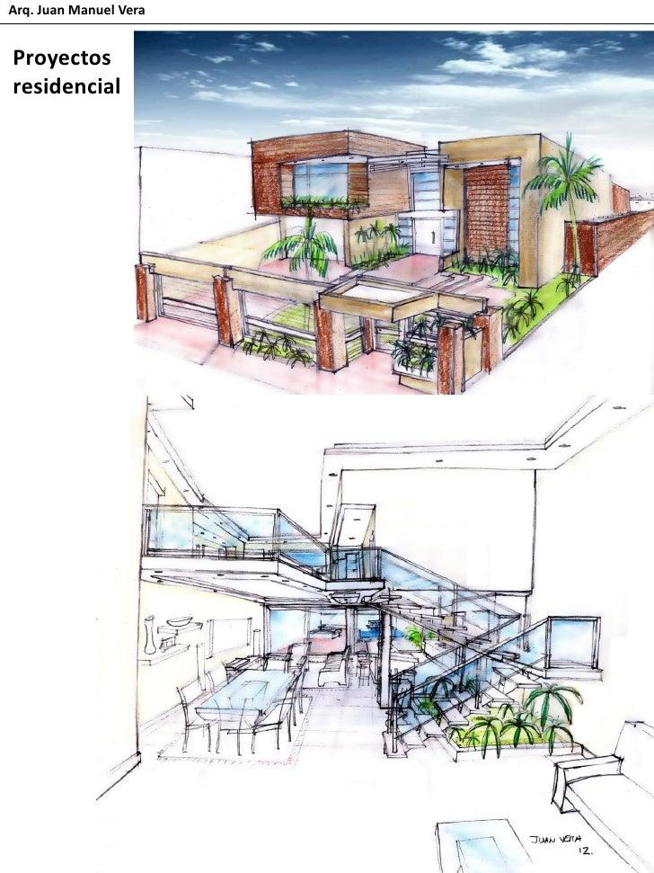 Proyectos de arquitectura arq juan vera for Proyectos arquitectura