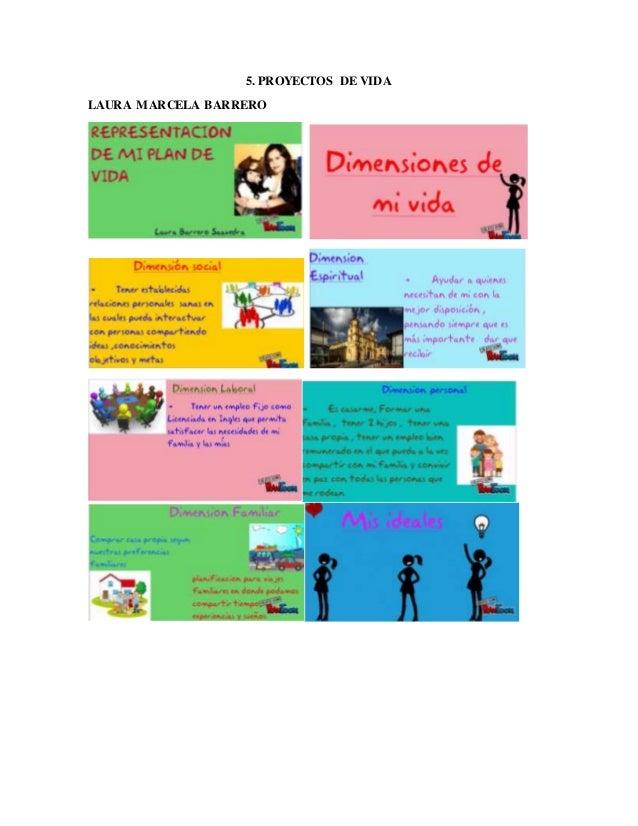 5. PROYECTOS DE VIDA LAURA MARCELA BARRERO