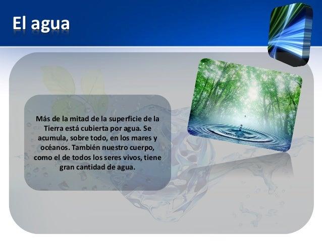 El uso eficiente del agua. Slide 2