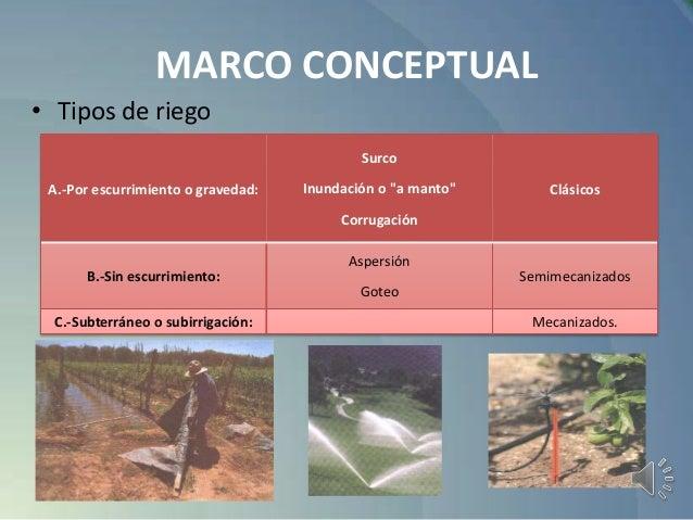 Proyecto sistema automatizado de riego - Tipos de riego por goteo ...
