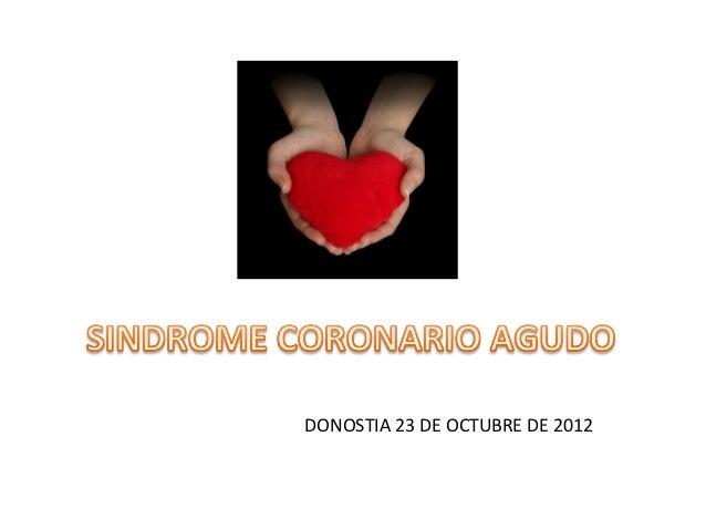 DONOSTIA 23 DE OCTUBRE DE 2012